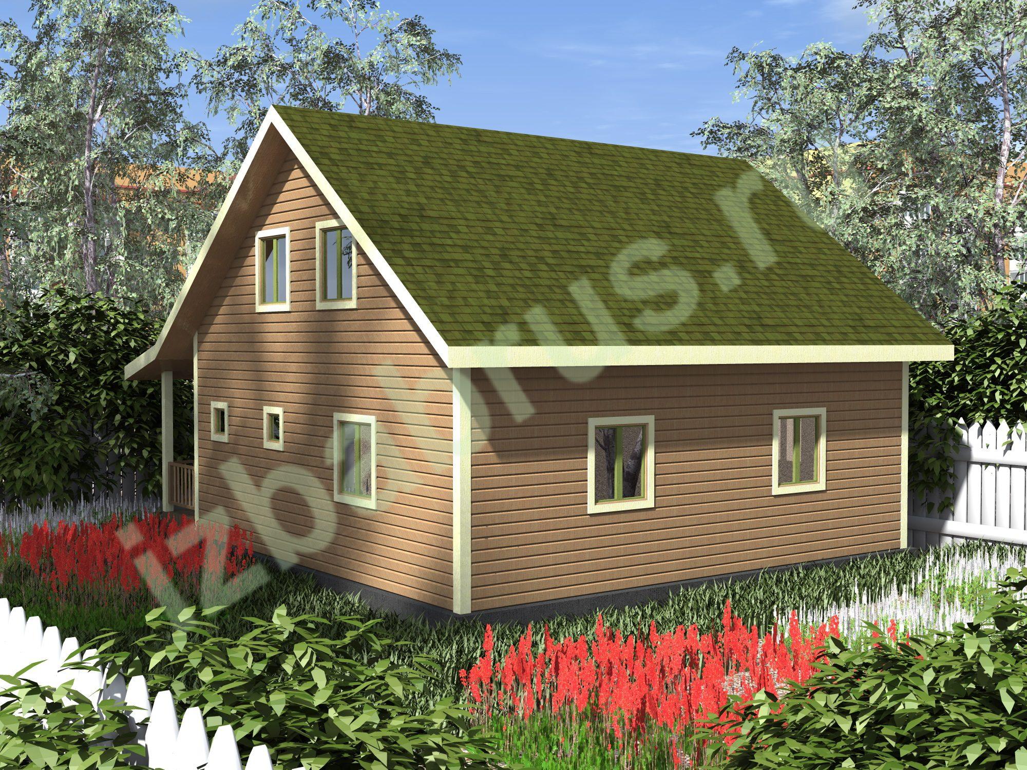 Дом проект 10