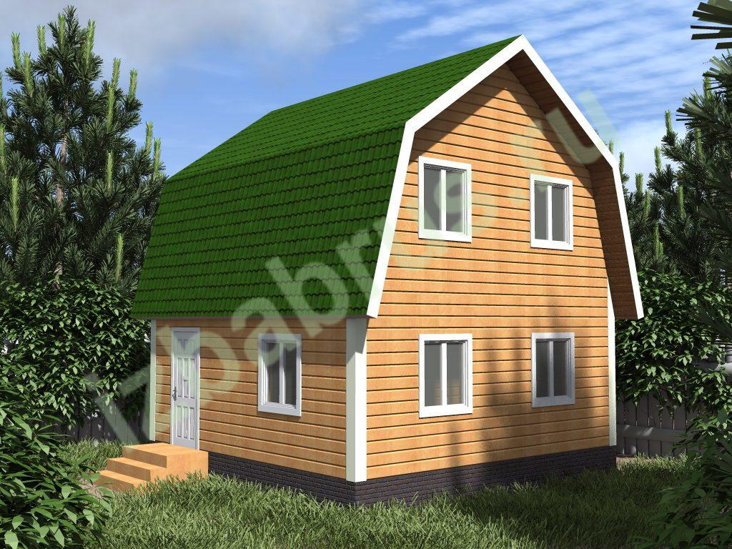 Дом проект 21