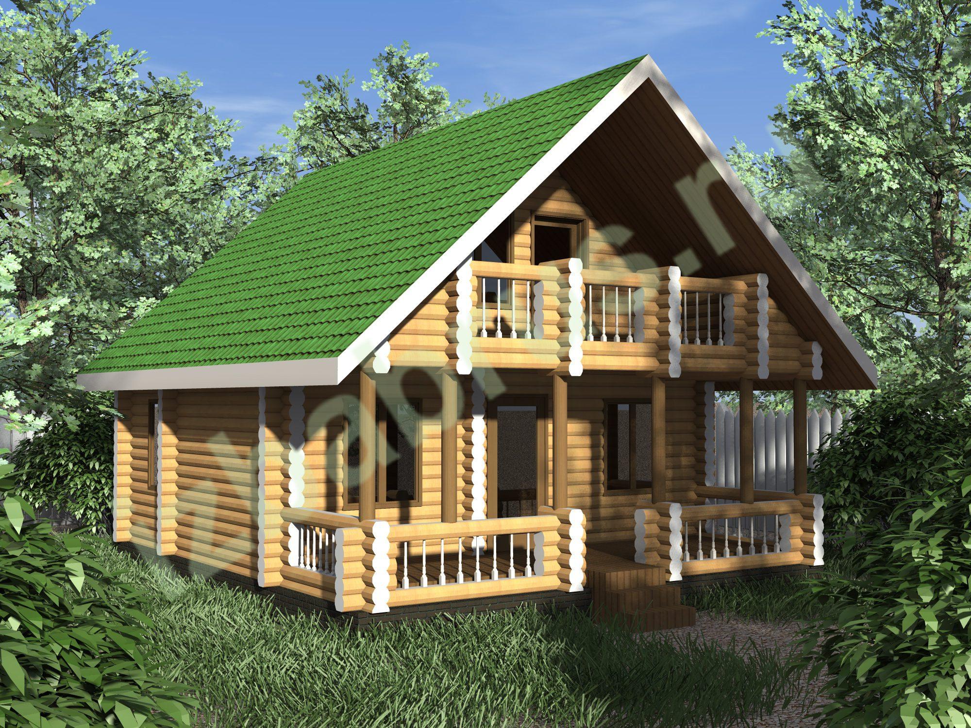 Дом Бревно 2 (1)