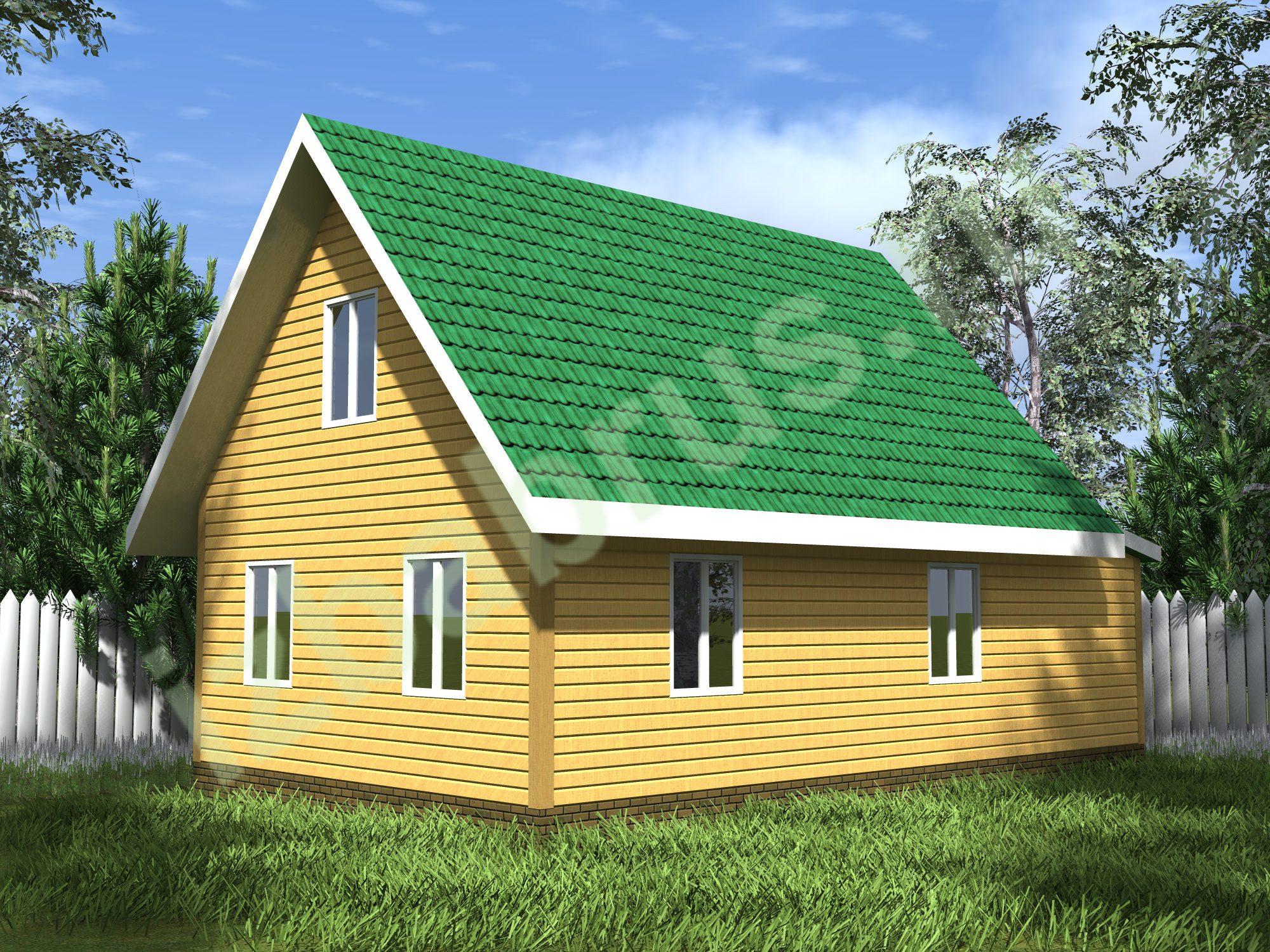 Дом проект 43