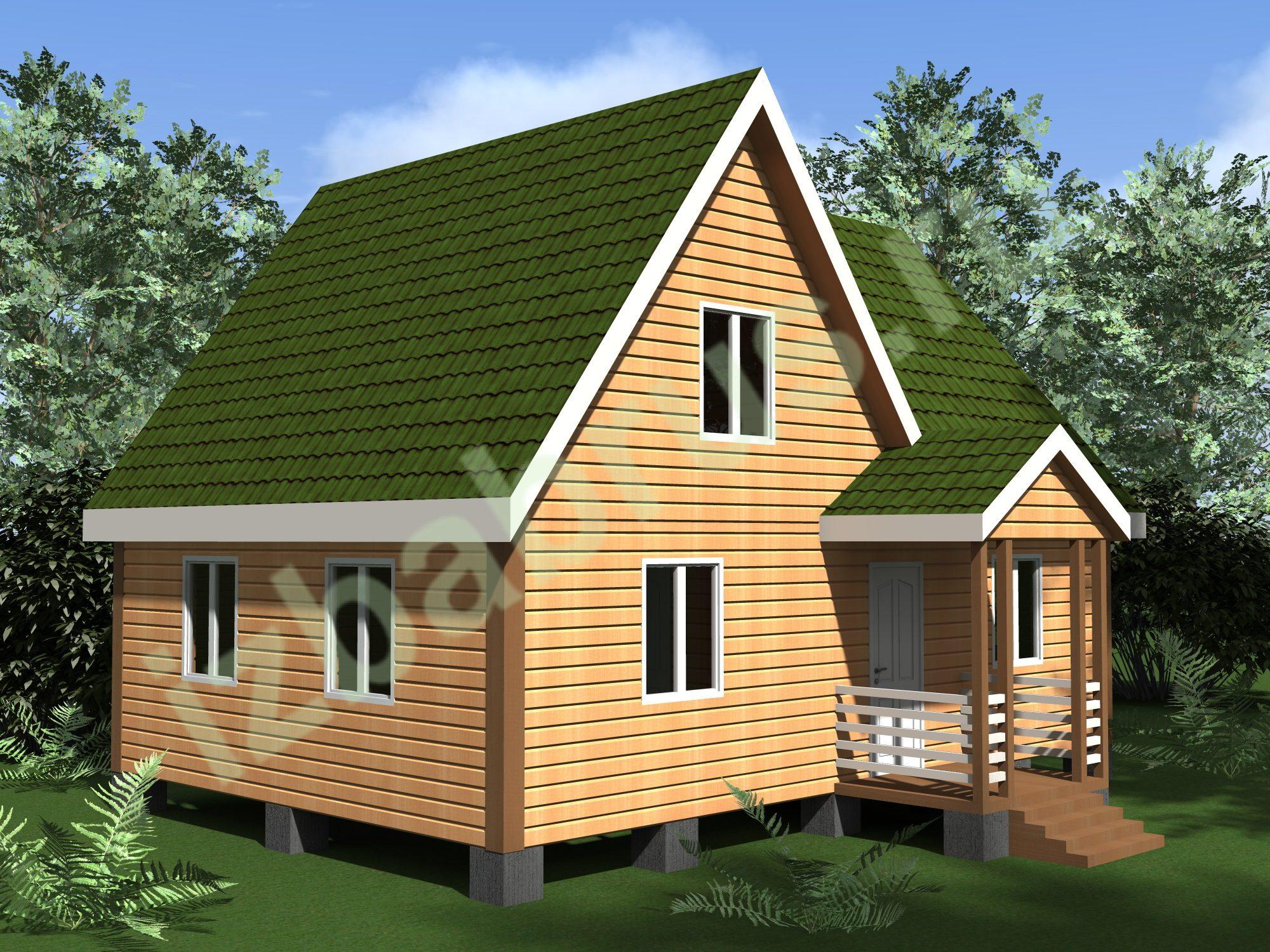 Дом проект 56