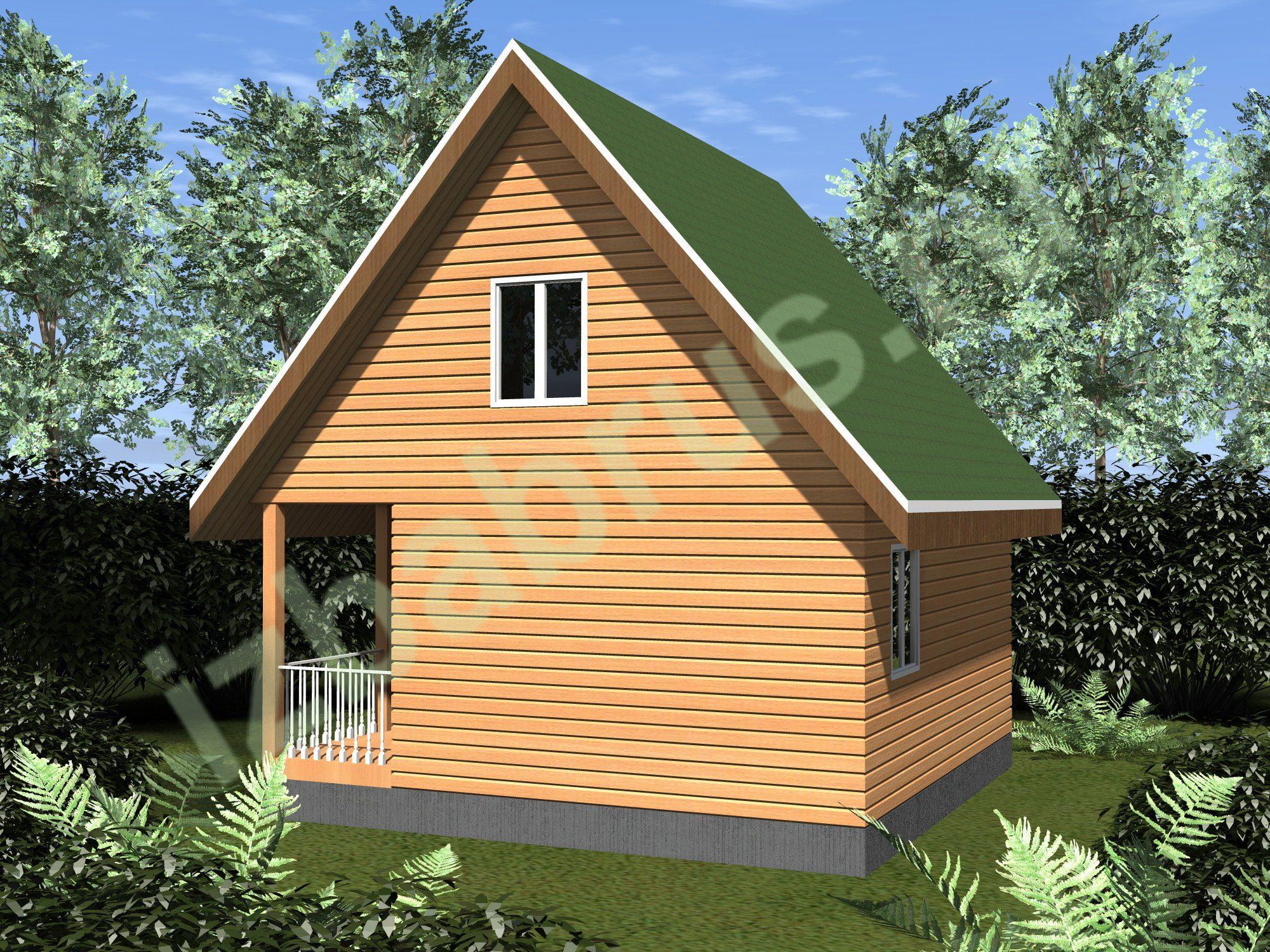 Дом проект 46