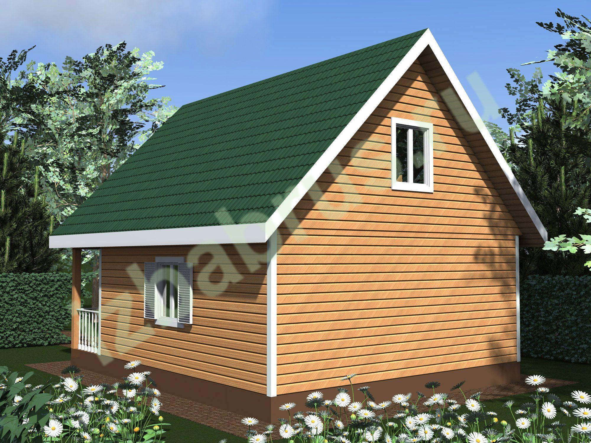 Дом проект 52