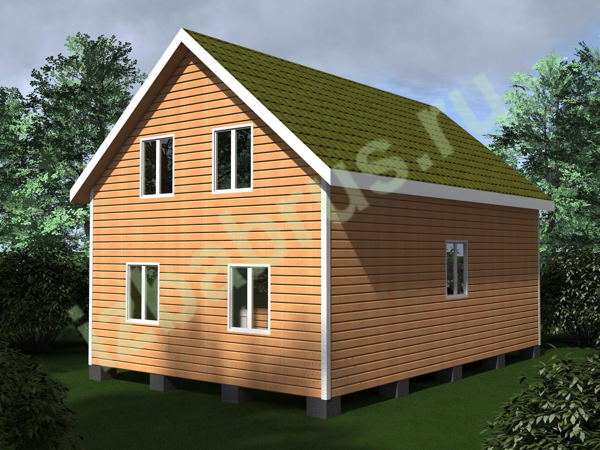 Дом проект 57