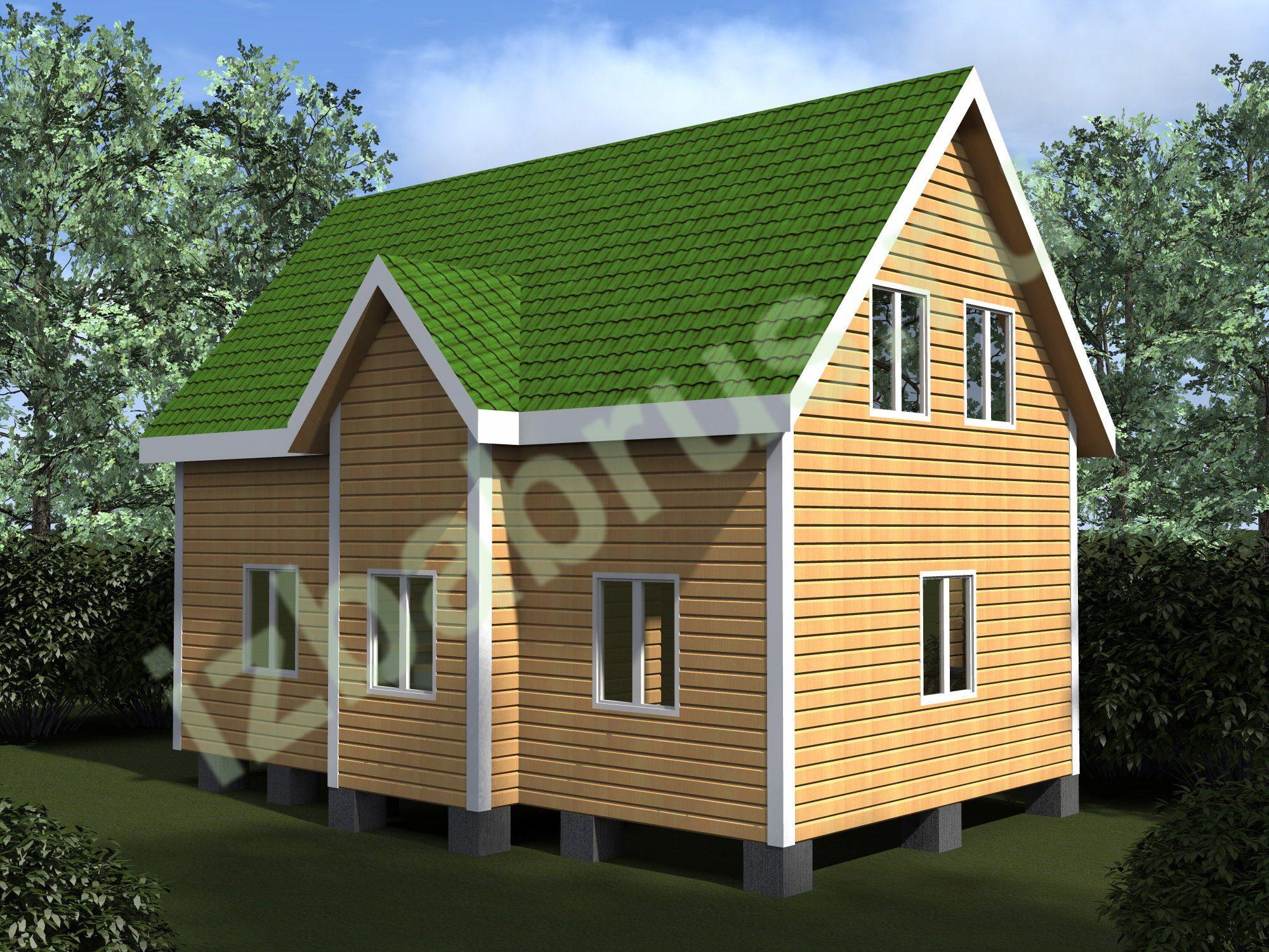 Дом проект 58