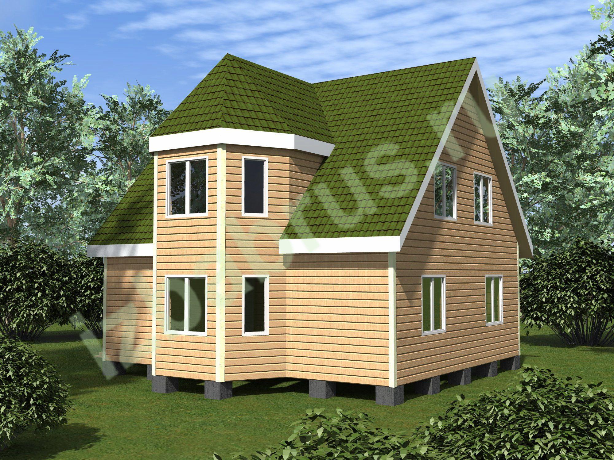 Дом проект 59