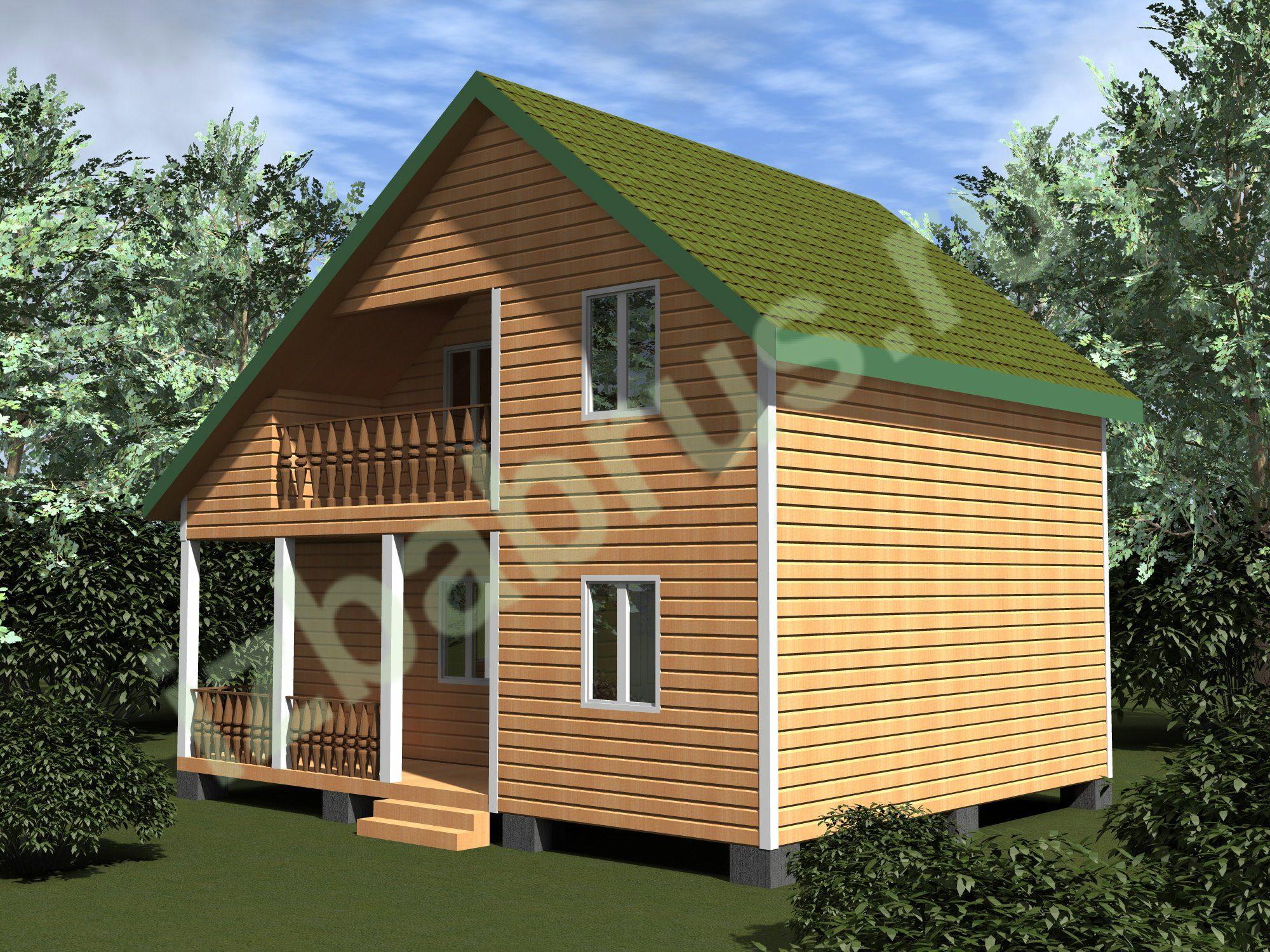 Дом проект 61