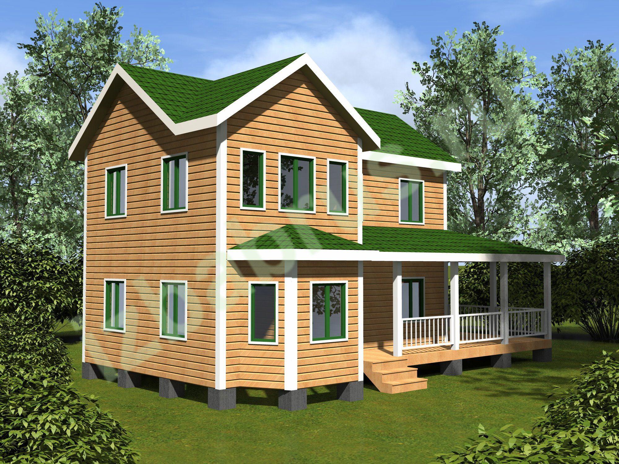 Дом проект 63